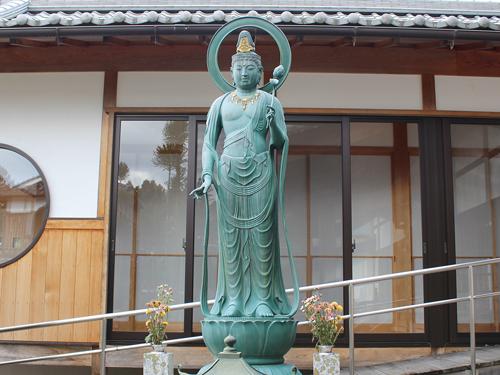 平成観世音菩薩 ( 写経塚 )