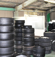 タイヤ保管サービス