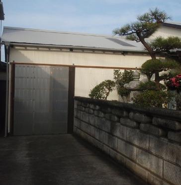 加古川市A様邸:倉庫塗装アフター