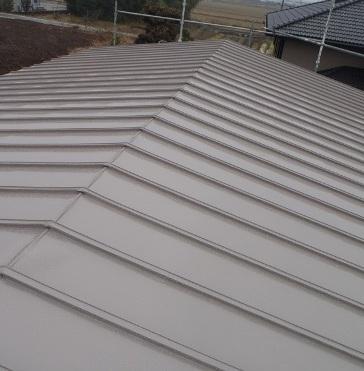 三木市F様邸:屋根塗装アフター