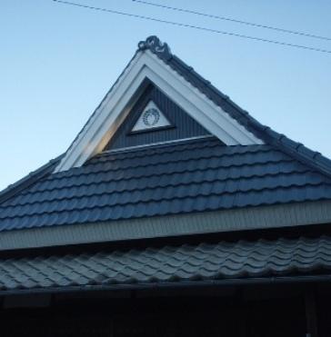 三木市S寺:屋根塗装アフター