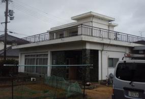 三木市H様邸:外壁塗装ビフォー