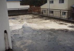 三木市H様邸:屋上防水工事ビフォー