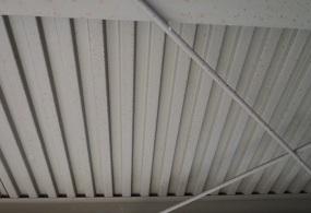 三木市F様邸:倉庫内装塗装ビフォー