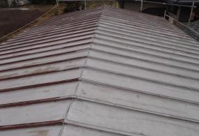 三木市F様邸:屋根塗装ビフォー