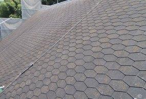 三木市M様邸:屋根塗装ビフォー