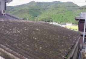 多可市M様邸:屋根塗装ビフォー