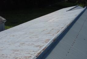 西脇市O様邸:屋根塗装ビフォー