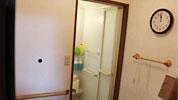 個浴でゆったり入浴の画像