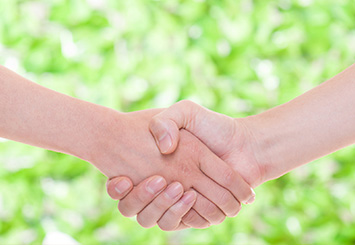 お客さまとの信頼関係を大切に「満足されるご提案」をいたします。