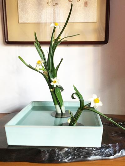 未生流お花教室でいけられたお花