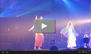 2012年6月17日 岡山HUG HUG イベントStudioN出演 ベリーダンス(キッズ)