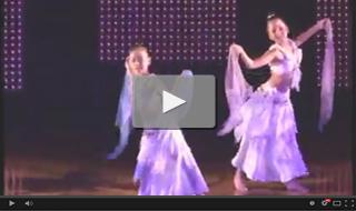 2012年9月16日 Studio Warp 発表会StudioN出演 ベリーダンス(キッズ)