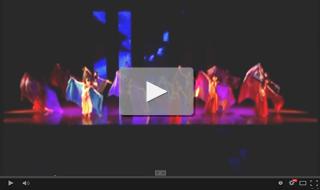 2012年9月16日 Studio Warp 発表会StudioN出演 ベリーダンス [ベール、ドラムソロ]