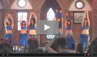 2013年3月31日 ダンスイベント in レ・マーニ(備前市) StudioN出演 ベリーダンス [ドラムソロ etc.]