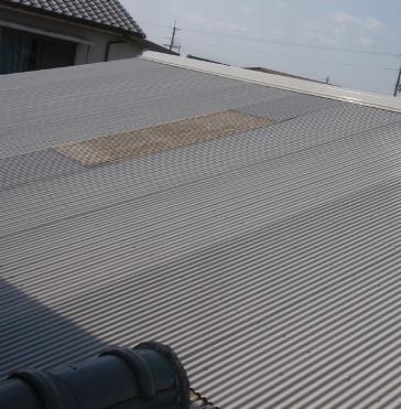加古川市A様邸:トタン屋根塗装アフター