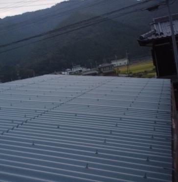 多可市M様邸:屋根塗装アフター