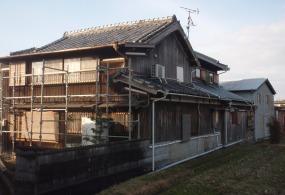 加古川市A様邸:外壁木部塗装ビフォー