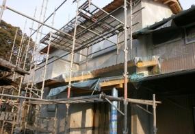 三木市T様邸:外壁塗装ビフォー