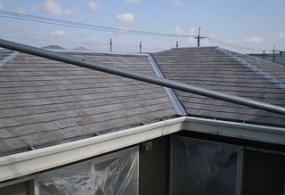 西篠山市O様邸:屋根塗装ビフォー