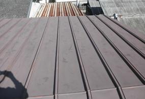 西脇市S様邸:屋根塗装ビフォー